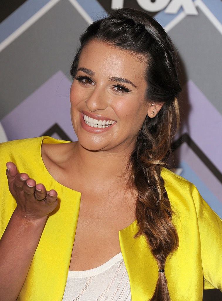 Lea Michele wore yellow.