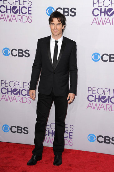 Ian Somerhalder hit the red carpet.