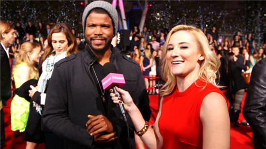 Video: White Collar's Sharif Atkins Roots For His Friends at PCAs