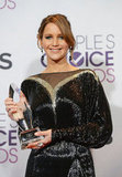 Jennifer Lawrence wore Valentino Couture to the 2013 People's Choice Awards.