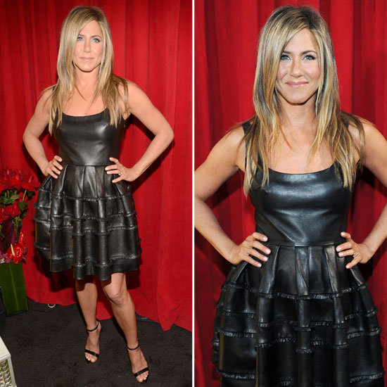 Pics of Jennifer Aniston in Dior at People's Choice Awards