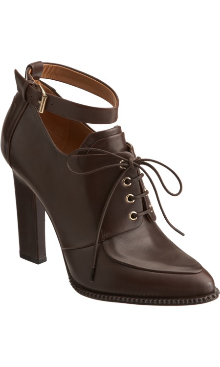 If wearing pumps in the Winter is out of the question in your region, this Givenchy lace-up apron bootie ($399, originally $995) will keep your feet both sturdy and stylish.