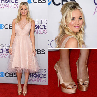 Kaley Cuoco at People's Choice Awards 2013