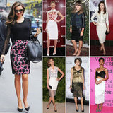 7 Days, 7 Ways: Give Your Pencil Skirt an A-List Twist