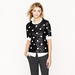 J.Crew's Polka-Dot Sequin Top ($80, originally $128) works just as well for the office as it does for a night out with the girls.
