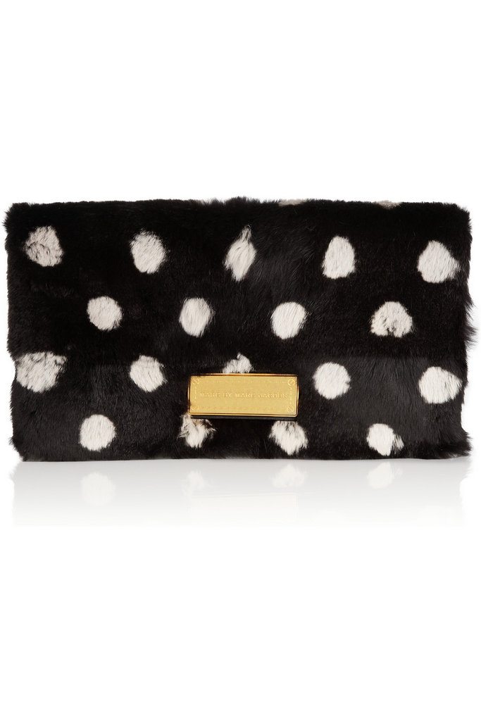 Marc by Marc Jacobs's Too Hot to Party clutch ($458) is the perfect example of modern-day dots.
