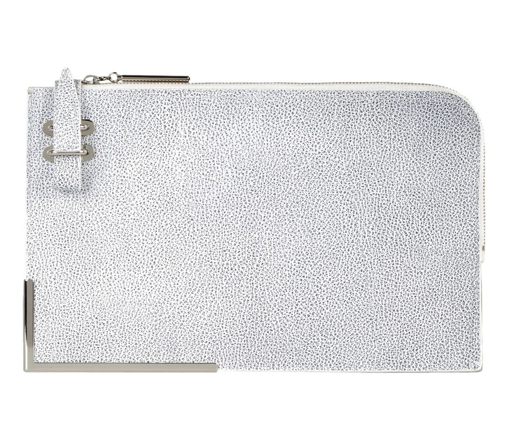 Store your clips and accolades in this modern leather Phillip Lim portfolio clutch ($560, originally $660).