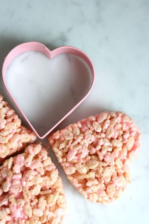 Valentine Rice Krispies Treats