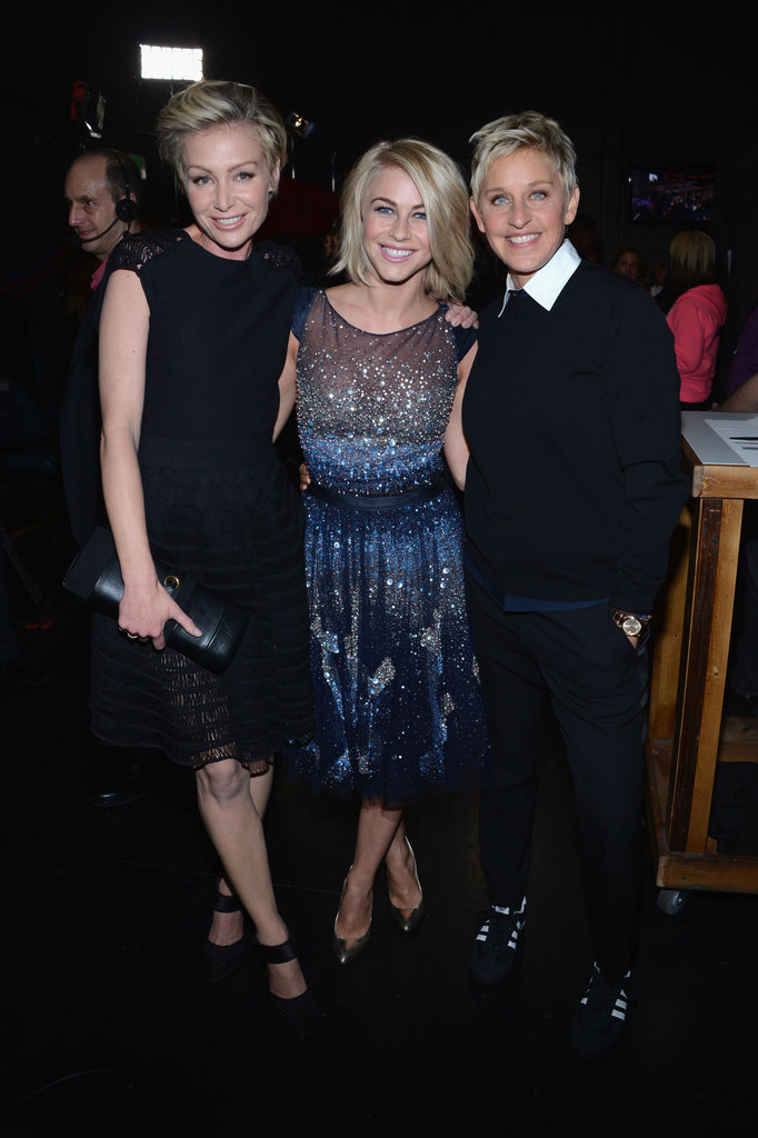 Portia de Rossi, Julianne Hough, and Ellen DeGeneres got close.