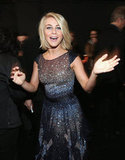 Julianne Hough let lose.