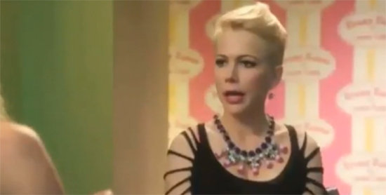 Video: See Michelle Williams's Cameo on Cougar Town