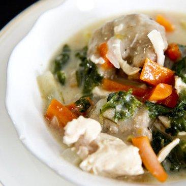 Whole Wheat Chicken and Dumplings Recipe
