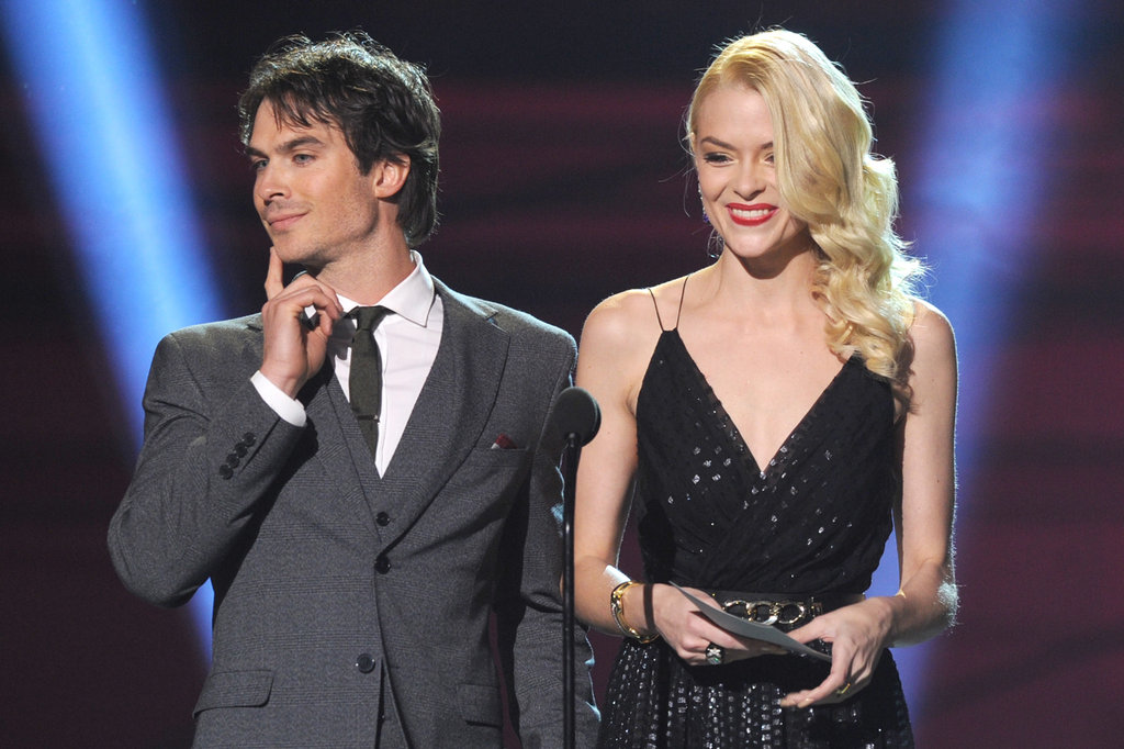 Ian Somerhalder and Jaime King
