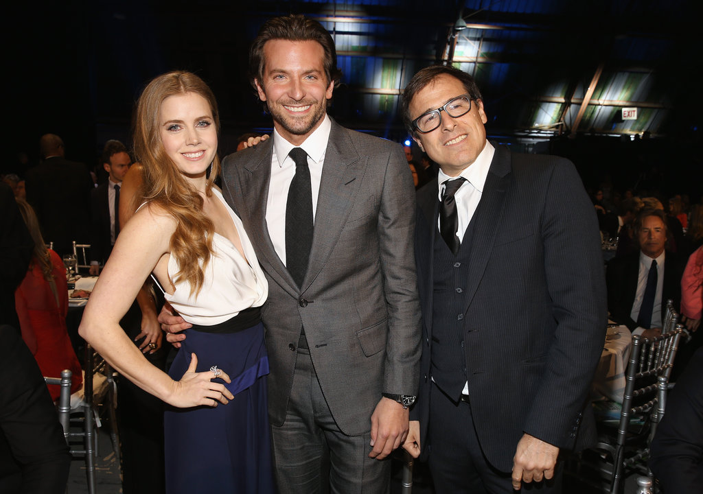 Amy Adams, Bradley Cooper, and David O. Russell