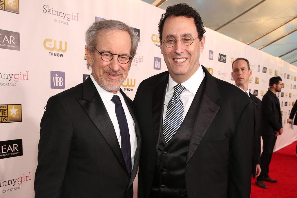 Steven Spielberg and Tony Kushner