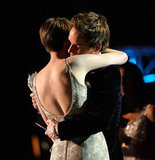 Anne Hathaway and Eddie Redmayne