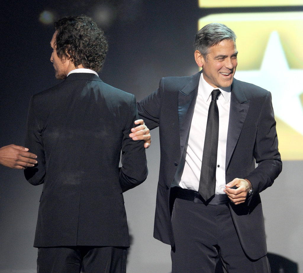 Matthew McConaughey and George Clooney