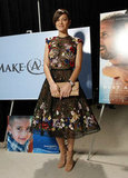 Marion Cotillard Chooses Short Floral For the Critics' Choice Awards