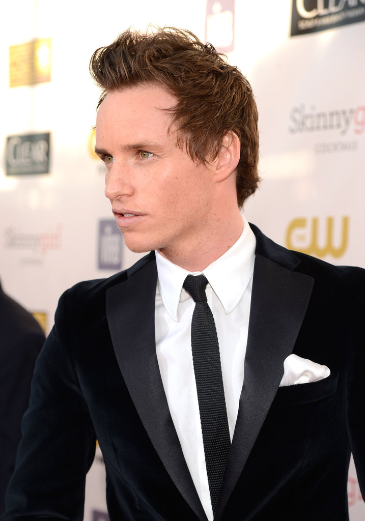 Eddie Redmayne Kicks Off the 2013 Critics' Choice Awards Red Carpet