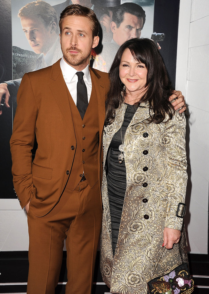 What's hotter than a guy and his mom? Ryan Gosling brought her along to the LA premiere of Gangster Squad in January 2013.
