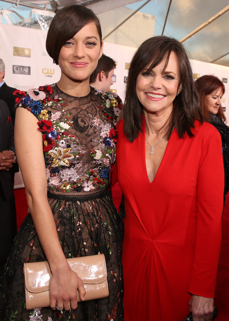Marion Cotillard linked up with Sally Field.