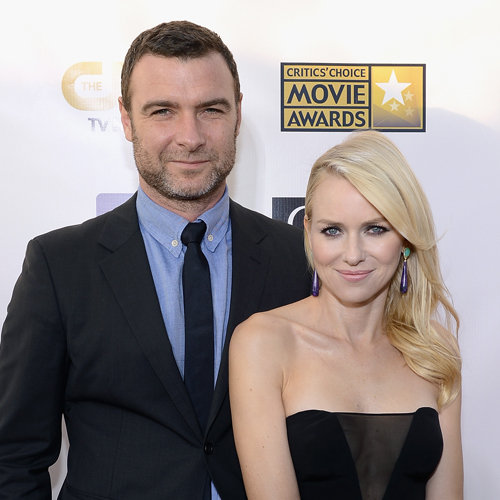 Naomi Watts and Liev Schreiber at Critics Choice Awards