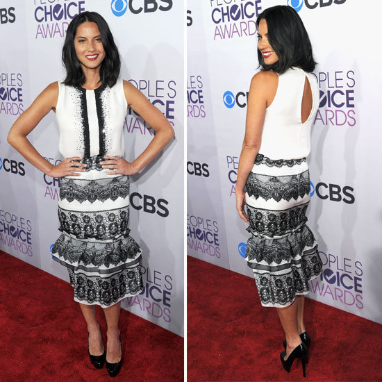 Pics of Olivia Munn at the 2013 People's Choice Awards