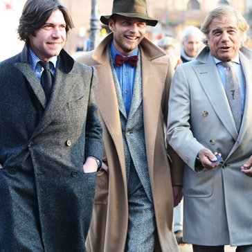 Street Style at Pitti Uomo January 2013