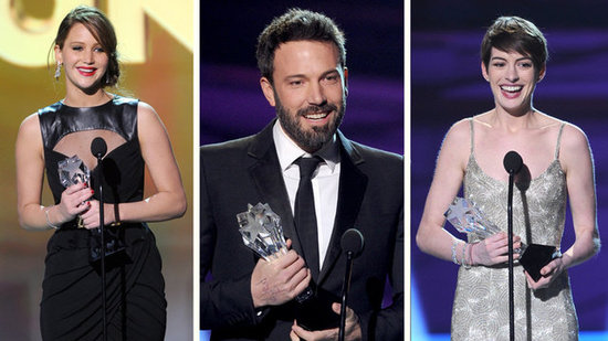 Video: Critics' Choice Highlights — Ben's Oscar Jab, Bradley Bonding, More!