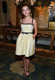Kiernan Shipka attended the AFI Awards.