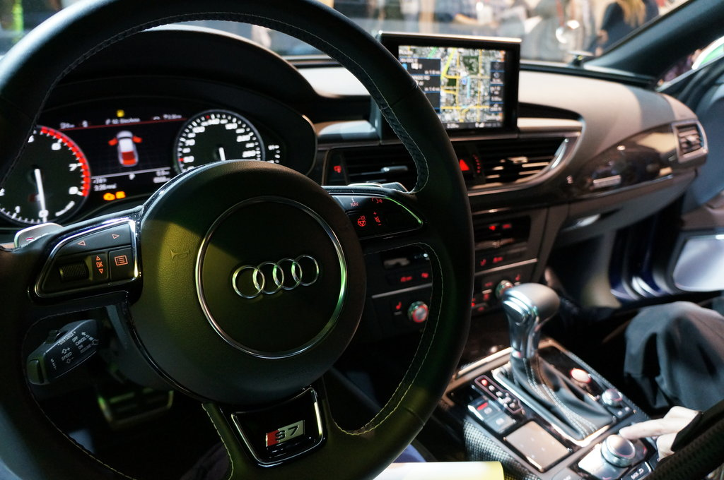 Audi S7 Digital Dashboard