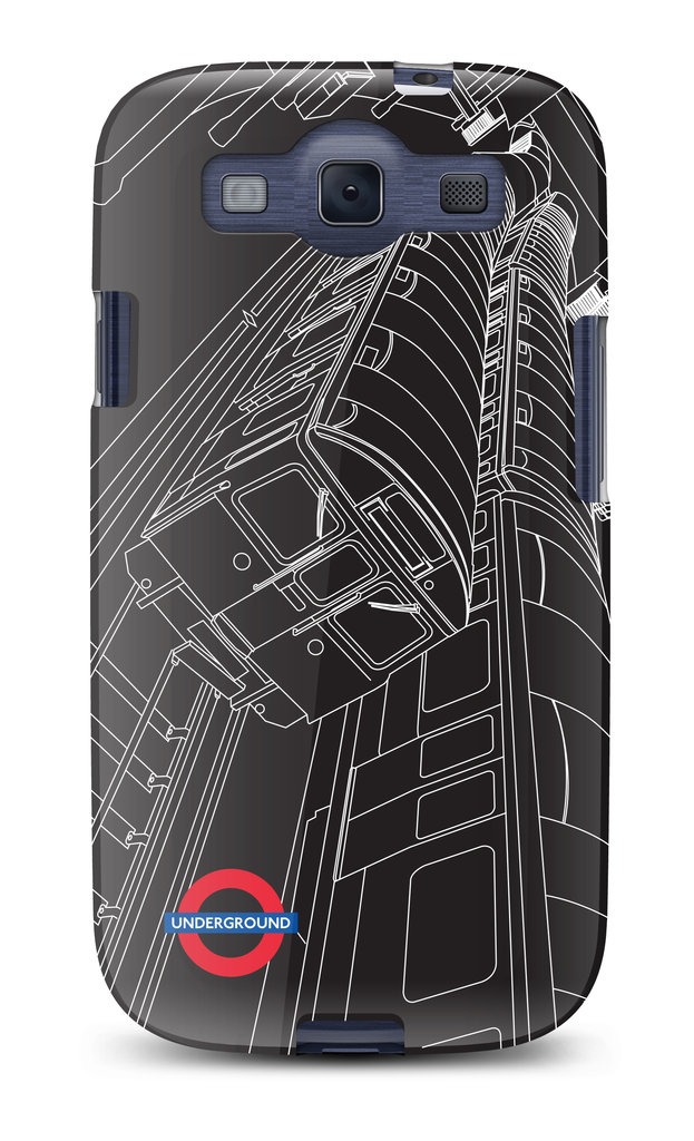 Tube Train Galaxy S III Case ($30)