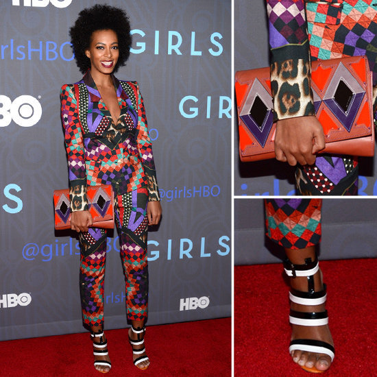 Solange Knowles gave us another bold printed look to love. Get it here.