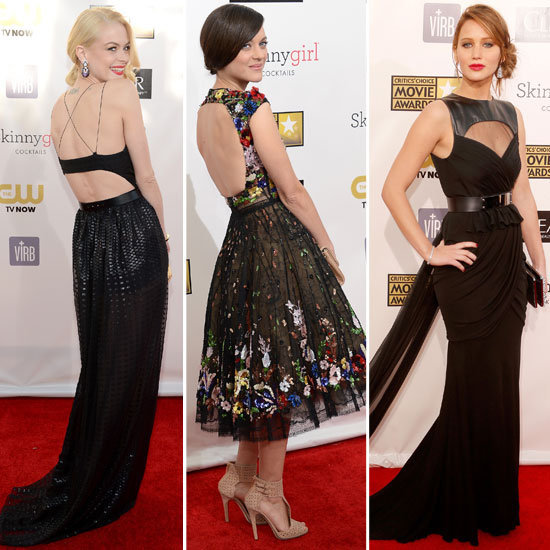 The Critics' Choice Awards was a parade of dresses sporting sexy cutouts.