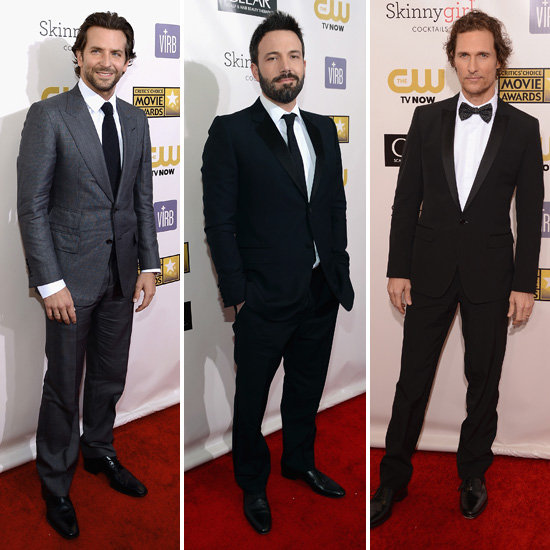 Hollywood Heartthrobs Suit Up For the Critics' Choice Awards