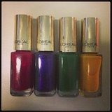 Bring on the jewel tones for 20-13! These new L'Oréal Paris Color Riche polishes are going straight on our toes.