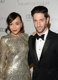 Ashley Madekwe and Iddo Goldberg attended The Art of Elysium's sixth annual Heaven gala.