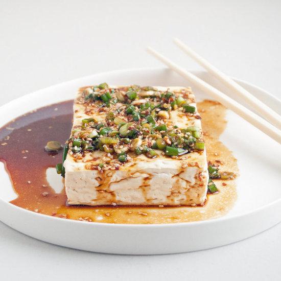 ... warm garlic thyme olive oil warm tofu with spicy garlic warm tofu with
