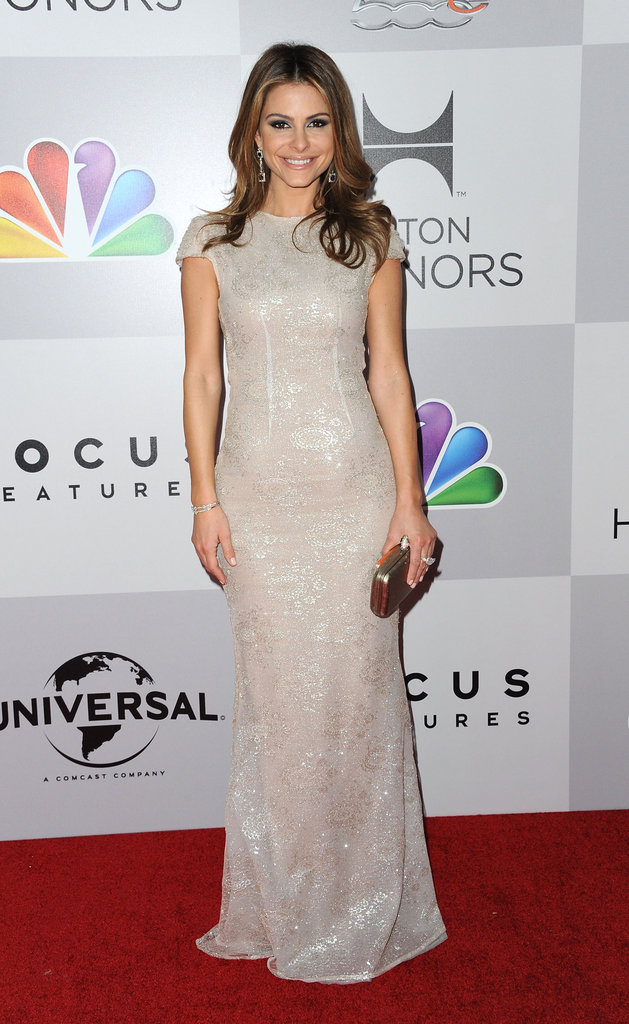 Maria Menounos arrived at the after party.