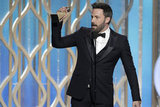 Ben Affleck got emotional while accepting his award.