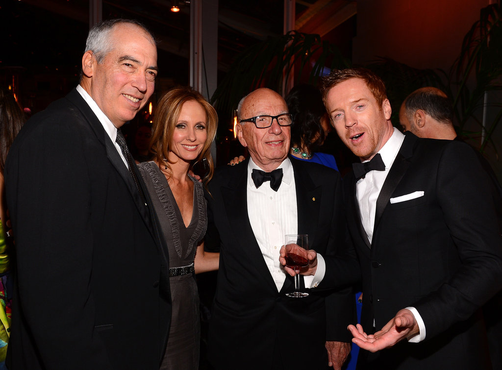Claire & Hugh Celebrate Homeland at Fox's Bash With the Modern Family Crew