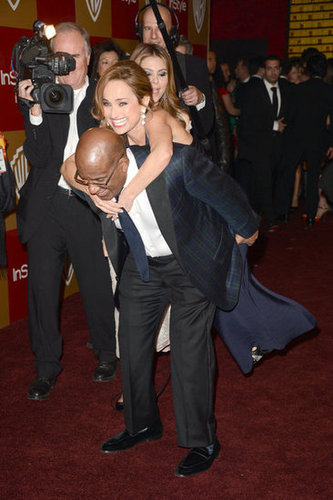 Al Roker got silly with Giada De Laurentils.