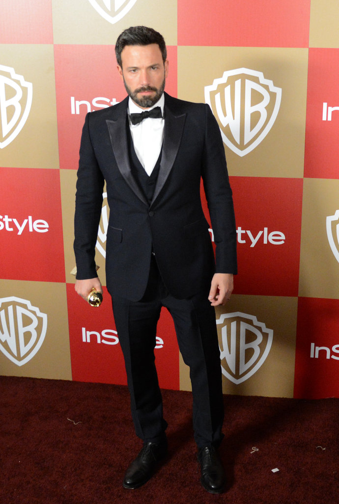 Ben Affleck walked the red carpet.