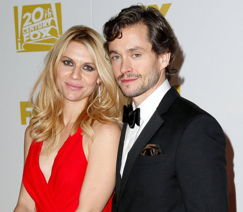 Claire Danes and Hugh Dancy posed together at the Fox after party.