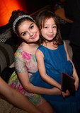 Modern Family costars Ariel Winter and Aubrey Anderson-Emmons smiled together at the Fox after party.
