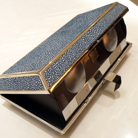 Technology, Meet Fashion: Rebecca Minkoff For Stellé Speaker Clutches