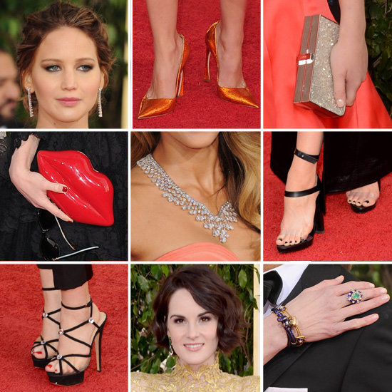 Bags, Heels & Jewels from the 2013 Golden Globes Red Carpet!