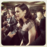 A Closer Look at Rachel Weisz's Polka Dots