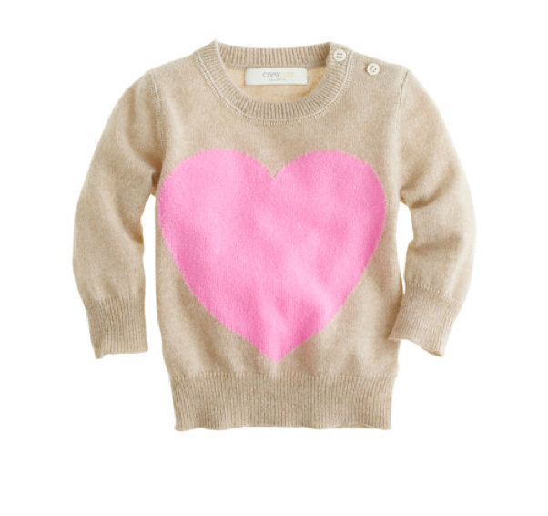 Cashmere Heart Me Sweater