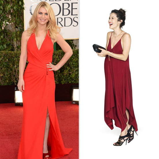 Claire Danes's Radiant Red